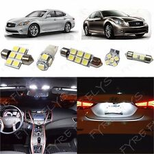 11x White LED light interior package for Infiniti M35/M37/M45 IM1W
