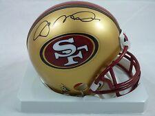 Joe Montana HOF San Francisco 49ers Signed Riddell Mini Helmet with Photo Proof