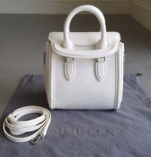 ALEXANDER MCQUEEN Heroine Mini Satchel Handbag Crossbody NEW