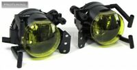 For BMW X3 E83 Aero Yellow Fog Lights Foglights M Sport Lamps Halogen Foglamps