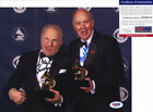 Mel Brooks & Carl Reiner Dual Signed Autograph 8x10 Photo PSA/DNA COA #1