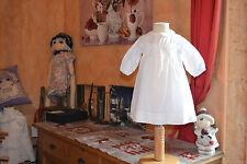 ROBE CYRILLUS 3 mois  blanche bapteme ceremonie devant broderie col clodine