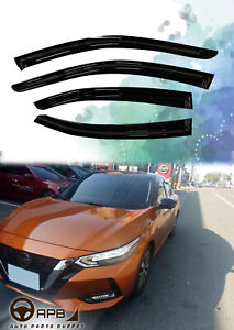 For Nissan Sentra 2020-on Deflector Window Visors Guard Vent Weather Shield