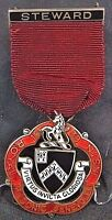 1938 English Masonic Silver Medal, Freemasonry Silver Jewel