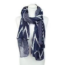 Sciarpe, foulard e scialli da donna bianchi geometriche