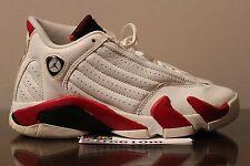 2005 Air Jordan 14 Retro White Varsity Red Candy Cane XIV Size 4Y 4 Y 312091 101
