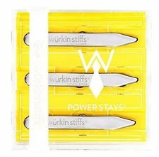 Würkin Stiffs Magnetic Power Collar Stays (3 Pairs of 2.75 Inch Stays) Free Ship