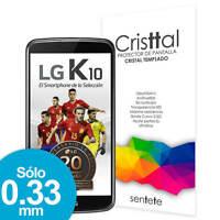Sentete® LG K10 Protector de Pantalla de Cristal Templado PREMIUM