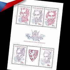 Czech Republic (2006) -- Premyslides- Hereditary Kings - minisheet **MNH