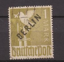 Berlin 1948, Schwarzaufdruck, Mi-Nr.17, gestempelt, Michel 160€