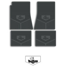 71-72 Dodge Dart Demon A-Body Custom Rubber Floor Mats - Choose Color