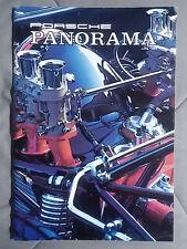 1984 JUNE PORSCHE PANORAMA MAGAZINE CARRERA 911 928 944 924 356 TURBO