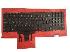 FOR DELL Latitude 5590 5591 Keyboard Backlit English keyboard No Frame