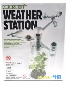 Green Science Weather Station 4m Kids Educational Kit