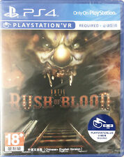 PS4 PSVR Until Dawn Rush Of Blood 直到黎明 血戮 HK Chinese/English PCAS00073 Game