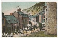 Corpus Christi Church Procession Quebec City Canada 1910c postcard
