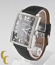 Roberto Bianci Stainless Steel Diamond Women's Watch Beautiful Gift!