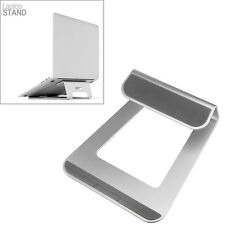 "Aluminum Laptop Stand Holder Cooling Desk Pad for MacBook Pro Air 11"" to 15"""