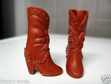 BARBIE DOLL CLOTHES/SHOES *MATTEL WESTERN BOOTS   *NEW* ##1580a