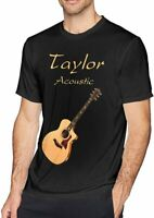 Men's Taylor Acoustic Guitar Personality T-SHIRT FUNNY VINTAGE FOR MEN WOMEN