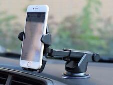 Flexible One Touch Car Stand Mount Holder for 3.5-6.3inch Smartphone Telephone