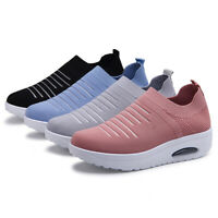 Women Stretch Socks Rocking Shoes Flying Woven Cushion Shoes Casual Shoes NEW