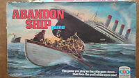 Abandon Ship by Ideal 1976 Game Spares