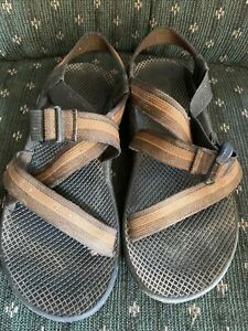 mens chaco sandals size 10 Orange Brown