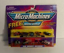Micro Machines Micro World Set #42 Desert Drivers W/bonus Sealed Galoob