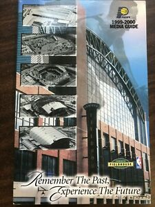 NBA BASKETBALL PACERS MEDIA GUIDE 1999-2000 EXCELLENT CONDITION