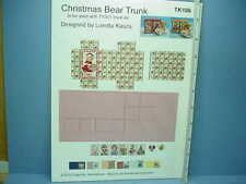 Dollhouse Miniature Christmas Decorating Trunk Kit-TK106  - Dragonfly Int'l 1/12