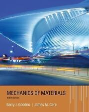 Mechanics of Materials by Goodno, Barry J., Gere, James M.9th ed. Hardcover