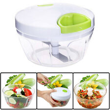 Manual Food Processor Shredder Vegetable Meat Chopper Slicer Mincer Grinder