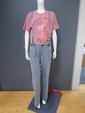 LOCAL overalls / trousers / pants  NEW with TAG size M removable suspenders