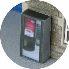 OO SCALE GAUGE COFFEE DRINK VENDING MACHINE FOR HORNBY MODEL RAILWAY STATION