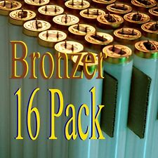 16 Pk 100W Tanning Bed Hot Bronzer lamps/bulbs F71 1 FREE pair of soft eye pods