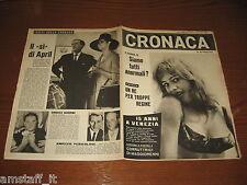 RIVISTA CRONACA=1963/38=COVER INGRID BOYER=DELITTO LECCO=CORLEONE=MISTERBIANCO=