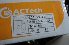 25MM INSPECTION TEE IT25 PVC ELECTRICAL CONDUIT X 15