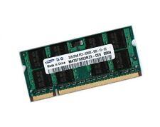 2GB DDR2 RAM Speicher Samsung Notebook R20 + R60 + R70