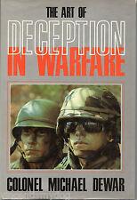 The Art of Deception in Warfare by Michael Dewar (Hardback, 1989)