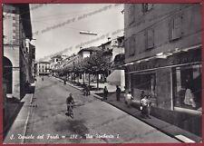 UDINE SAN DANIELE DEL FRIULI 08 Cartolina FOTOGRAFICA viaggiata 1955