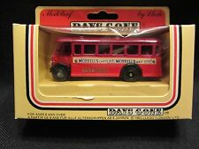 LLEDO  Days-Gone  Half Cab Singledeck Bus  Red  #17005  Morrell's  NIB  (11,1)