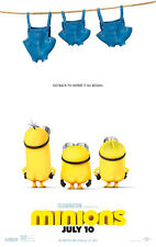 Minions III A1 Movie Poster High Quality Canvas Art Print
