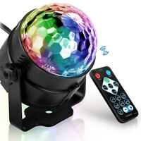 Party Disco Lights Strobe Led Dj Ball Sound Activated Dance Bulb Lamp Decor New