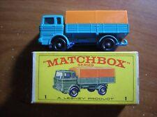 Vintage LNIB Matchbox Lesney # 1 Mercedes Truck