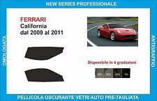 pellicole oscuranti vetri Ferrari California dal 2009-2011 kit anteriore