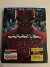 Amazing Spider-Man (Blu-ray/DVD, 2012, 3-Disc Set Target Exclusive W Slip Cover