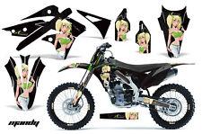 AMR Racing Kawasaki KX250 Graphic Number Plate Kit Bike Decal MX Part 13-15 MNDY
