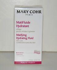 MARY COHR Matifying Hydrating Fluid Oily Skin 50ml / 1.7oz -BNIB, FREE SHIPPING