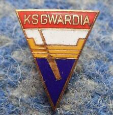 GWARDIA LODZ POLAND JUDO SPEEDWAY BOXING CLUB 1970's ENAMEL PIN BADGE